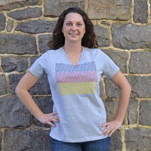 Womens casual Deutschland German T-shirt