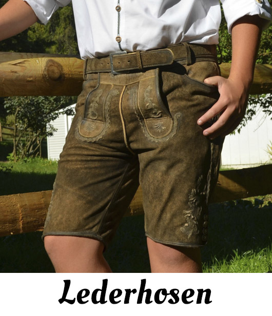 Lederhosen - Traditional, Imported German Lederhosen
