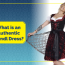 What is considered an Authentic Dirndl Dress?