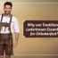 Why are Traditional Lederhosen Essential for Oktoberfest?