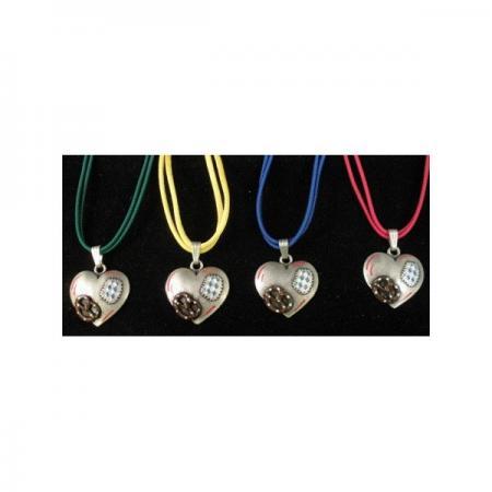 Heart Pretzel Necklace