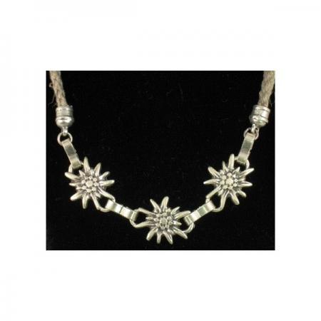 Triple Edelweiss Necklace