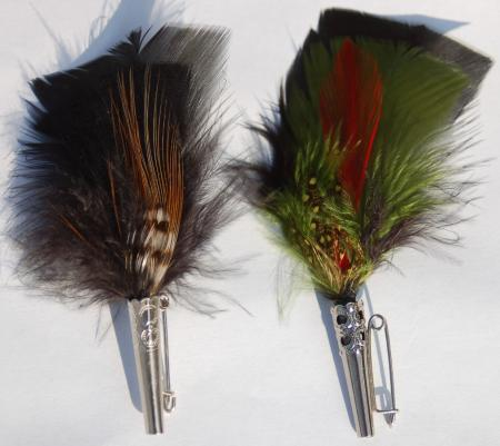 "4"" Colorful Feather-0"