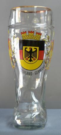 German Crest Beer Boot