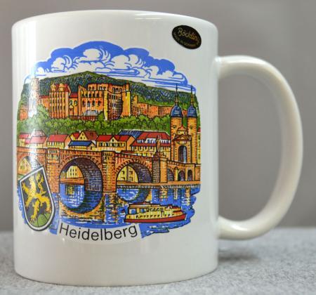Heidelberg City Scene Coffee Mug