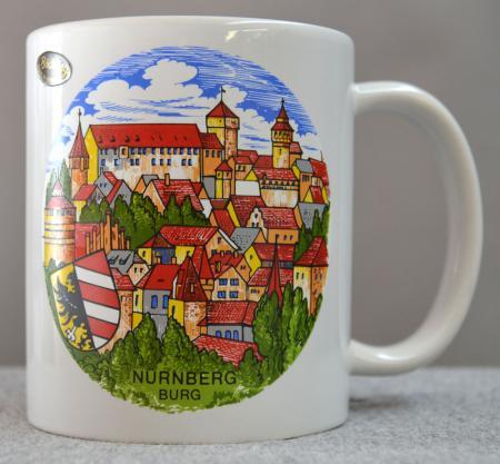Nurnberg City Scene Coffee Mug