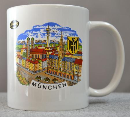 Munchen City Scene Coffee Mug
