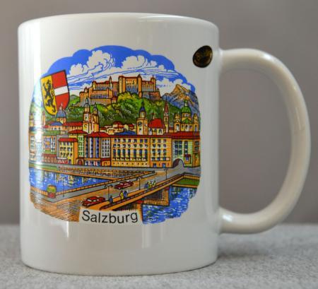 Salzburg City Scene Coffee Mug