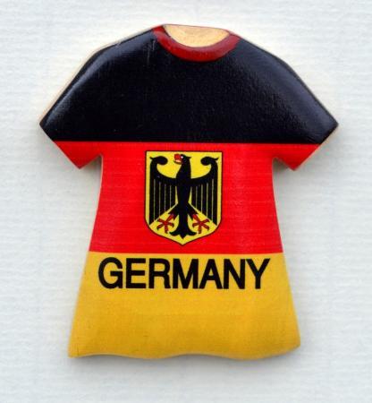 German Eagle Colors T-Shirt Magnet