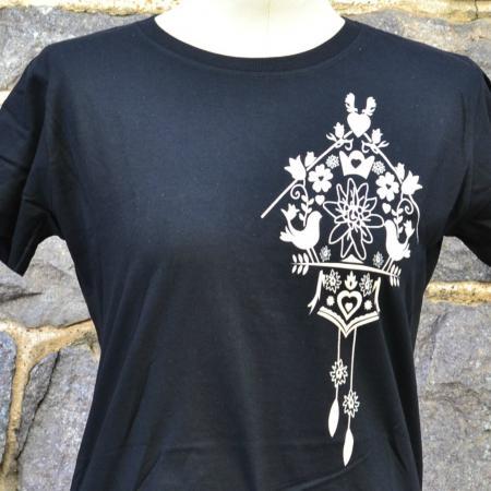 Ladies Cuckoo Clock T-Shirt