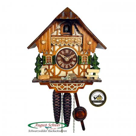 Small Black Forest House Cuckoo Clock
