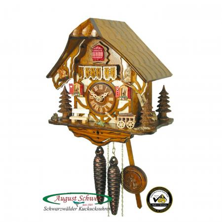 Timberframe Cottage Cuckoo Clock
