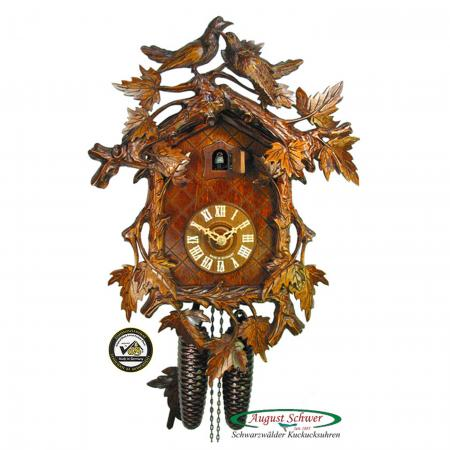 Finely Carved Luxury Cuckoo Clock