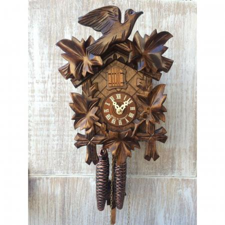 Natural Leaves Cuckoo Clock