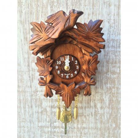 Kuckulino Bird and Leaves Cuckoo Clock