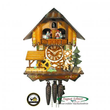 Woodchopper Cuckoo Clock