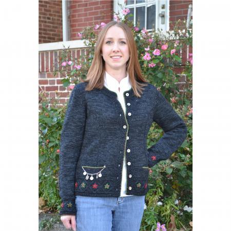 Ladies Sweater 'Andra' Festive Black