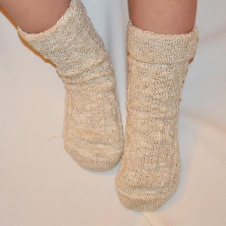 Boy's Beige Sock