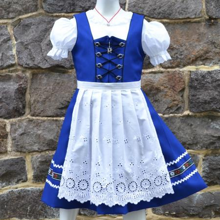 Heidi Royal Blue Dirndl