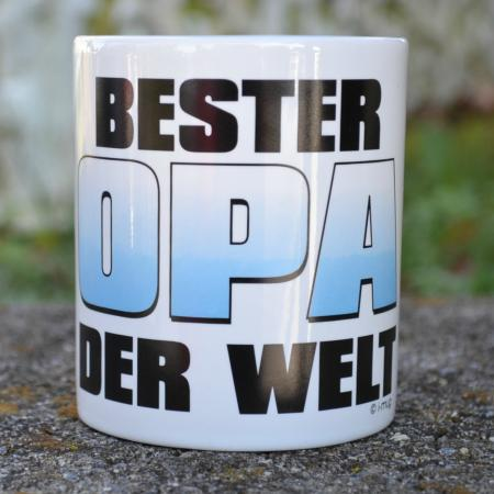 """Best in the world"" Oma or Opa Coffee Mug"