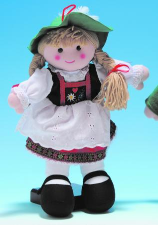 "Heidi Rag Doll 16"""