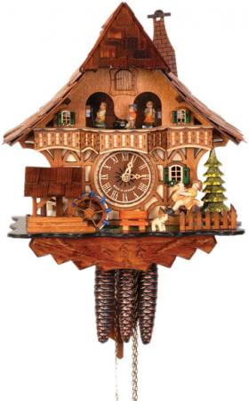 Cuckoo Clock with Rocking Horse