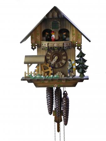 Cuckoo Clock with Swiss Music Box
