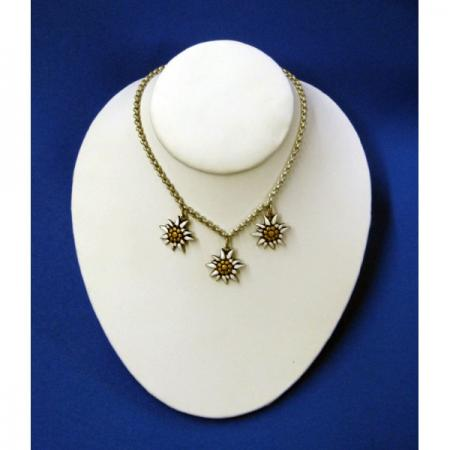 Child's edelweiss necklace