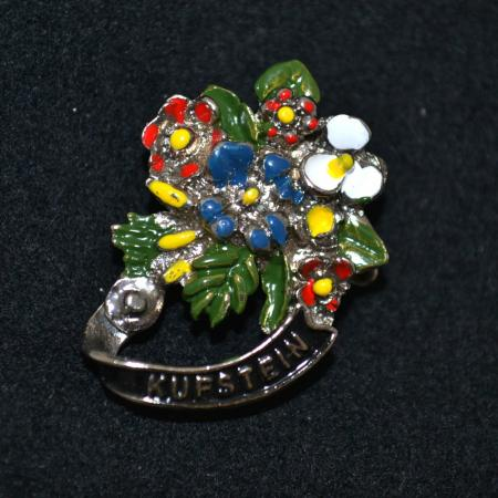 Kufstein Flowers Hat Pin