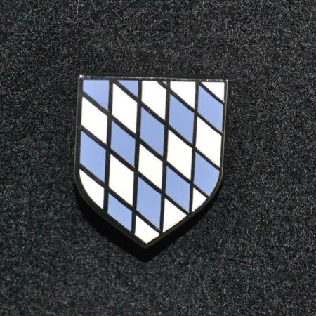 Bavarian rautenwappen hat pin