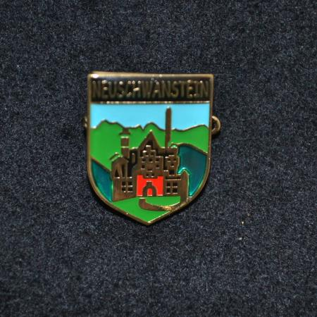 Neuschwanstein Castle Hat Pin