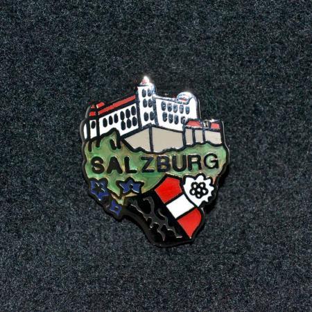 Salzberg-Schloss hat pin