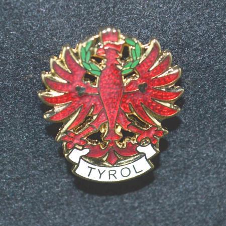 Tirol eagle hat pin