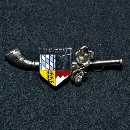 Bayern horn hat pin