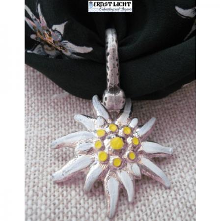 Edelweiss scarf pendant