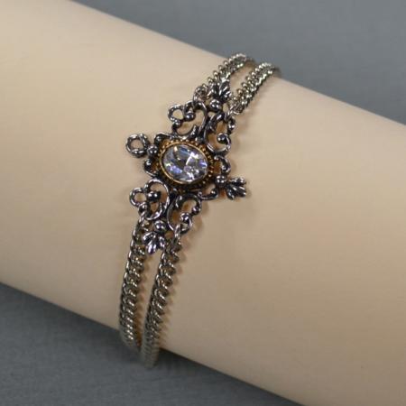 German filigree bracelet clear