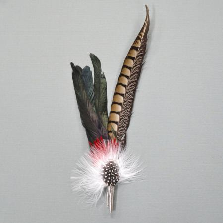 large German hat feather