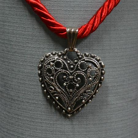 German heart necklace