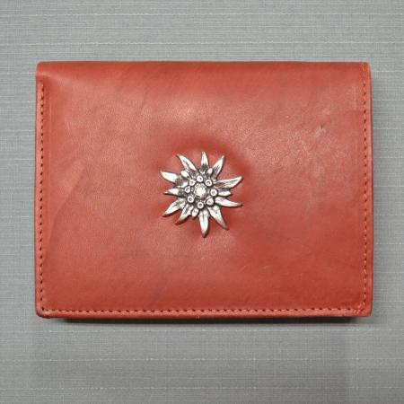 leather Edelweiss wallet