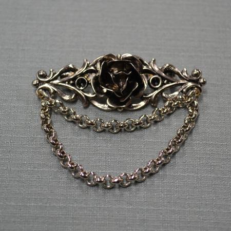 Rose Shawl Pin
