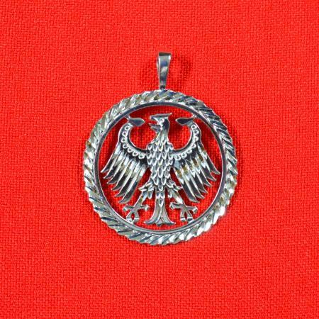 German Eagle Circular Pendent