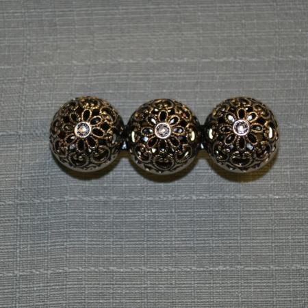 Circular Filigree Shawl pin