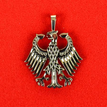 Gold German Eagle Pendant