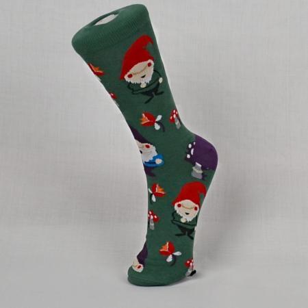 Women's Lawn Gnome Socks