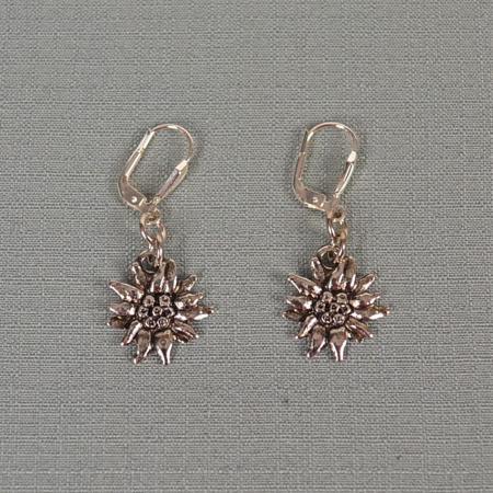 Dangling Edelweiss Earrings