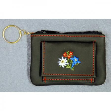 Coin purse key ring