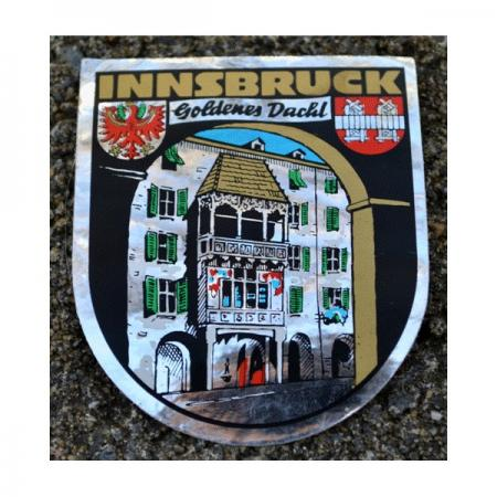 Innsbruck Shield Goldenes Dachl Decal