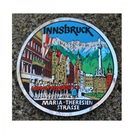 Circle Innsbruck Maria-Theresien Strasse Decal
