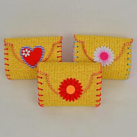 woven German imported purses
