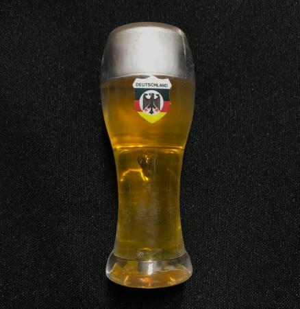 German beer glass magnet
